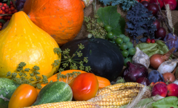Viel Obst und Gemüse lindert Schuppenflechte